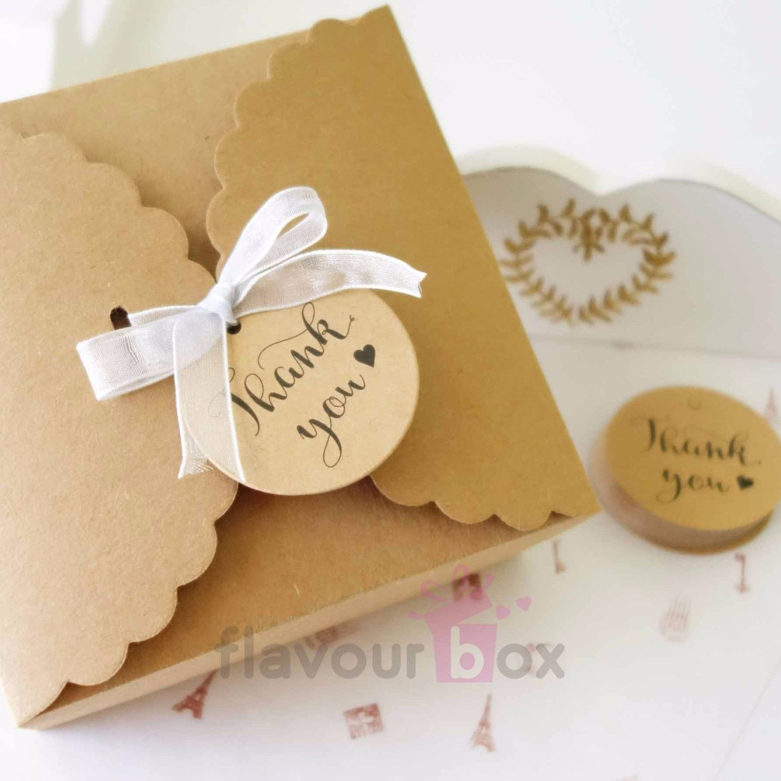 10x Wedding Gift Boxes Cake Baby Shower Favour Bomboniere Cookies ...