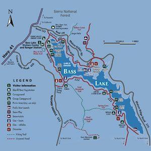 bass lake california map Bass Lake Camping Bass Lake California Lake Camping Bass Lake bass lake california map