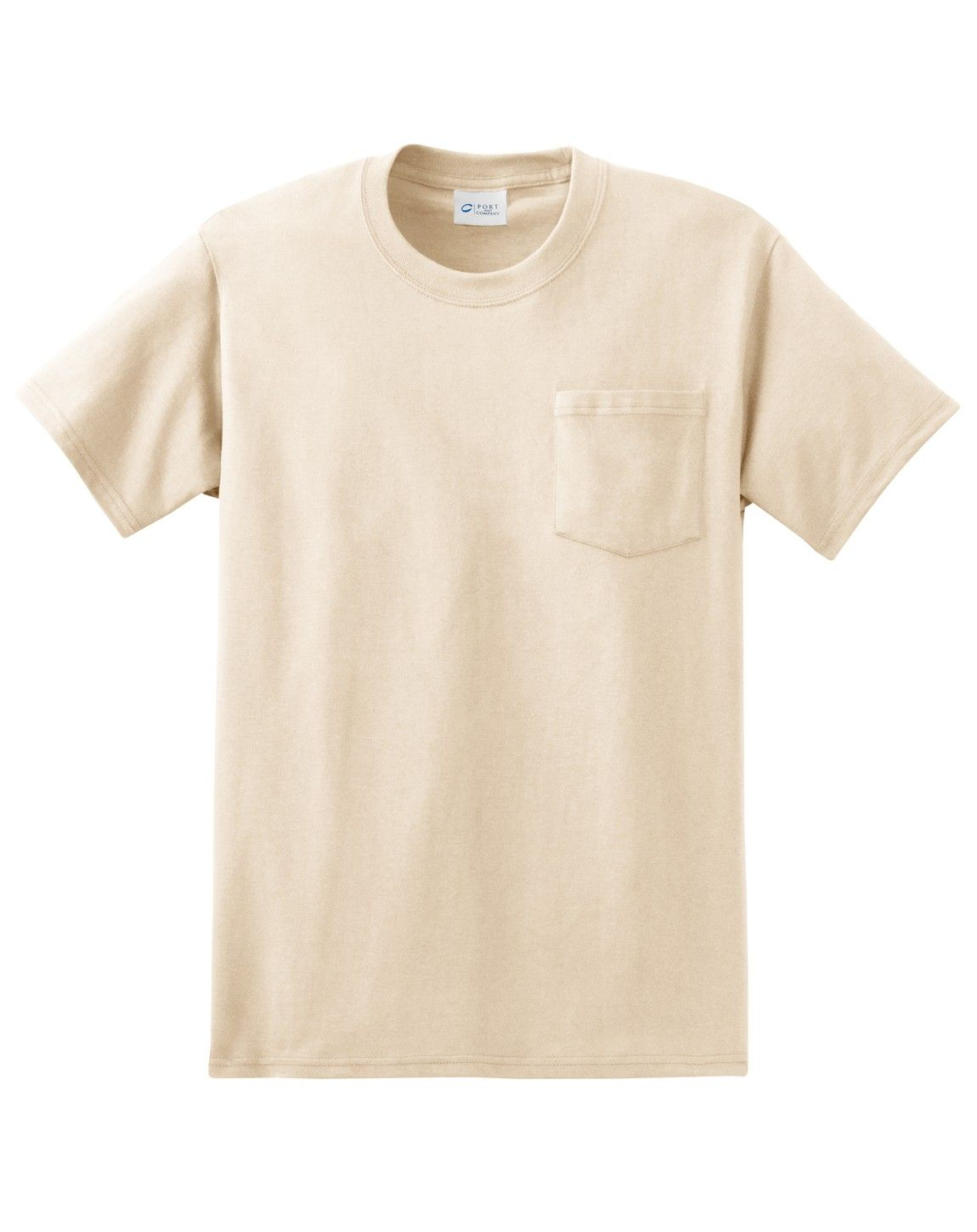 Port Company Pc61pt Tall Essential T Shirt With Pocket T Shirt Wholesale T Shirts Cool T Shirts