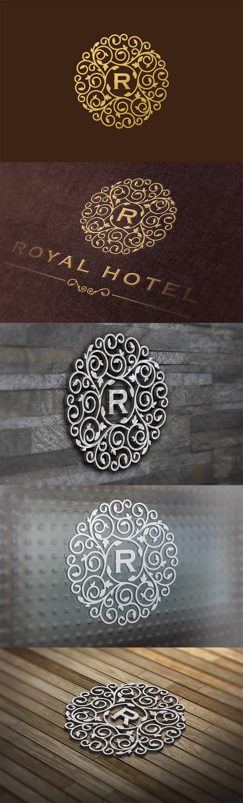 Royal Luxurious Logo Template.