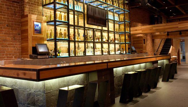 Led Edge Lighting Restaurant Bar