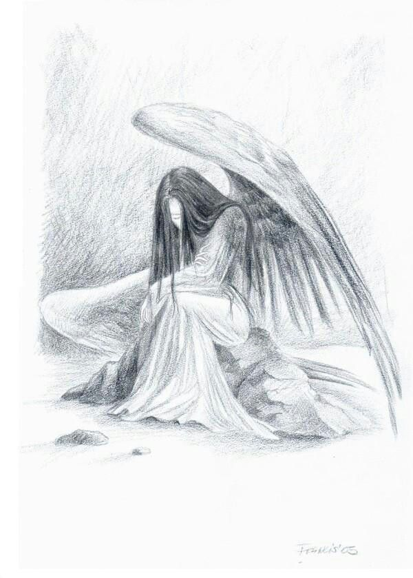 8 best images of pencil drawings of angels beautiful angel pencil drawings angel drawing fallen of pencil sketches and angel pencil drawings
