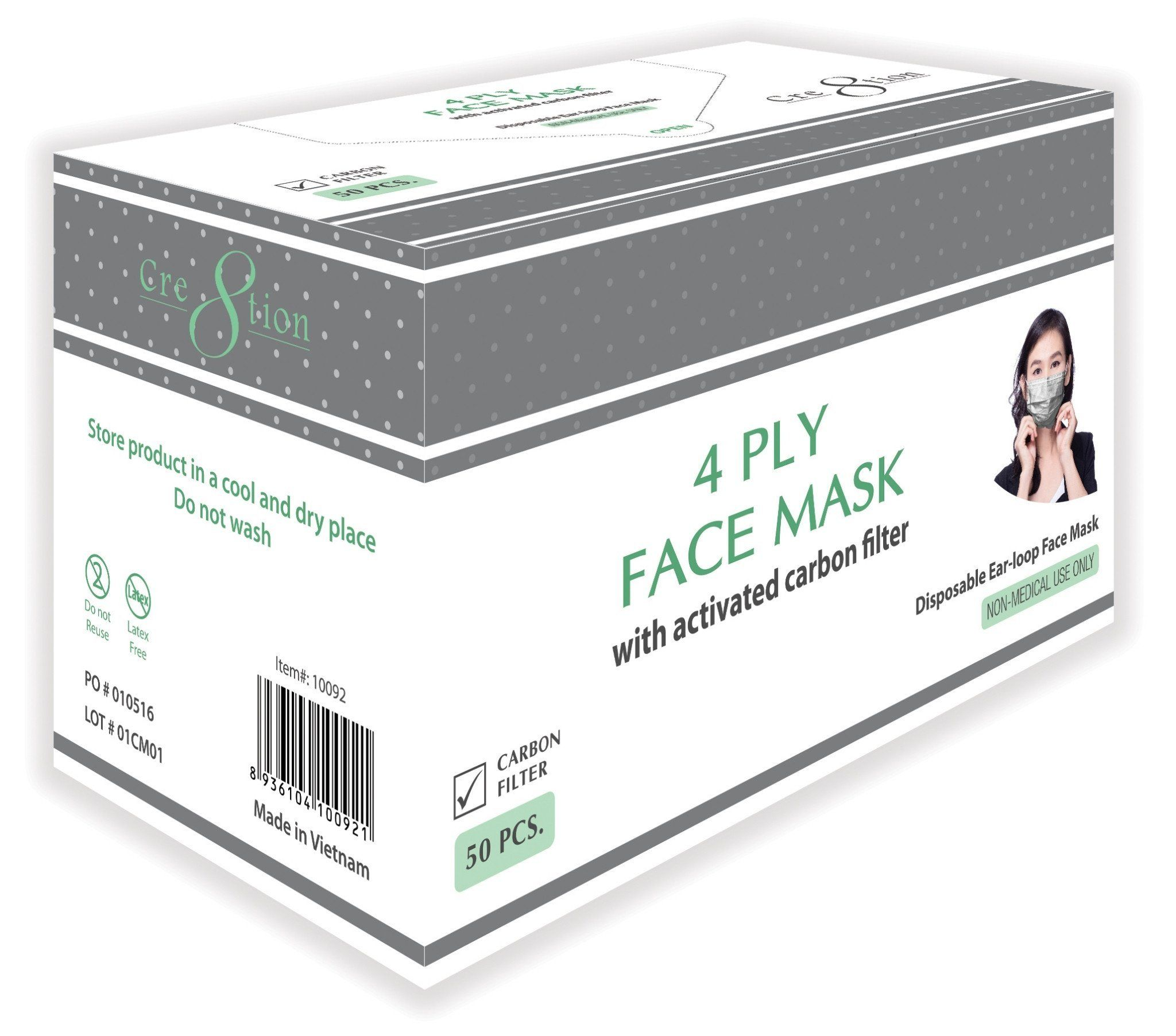 50pc disposable mask
