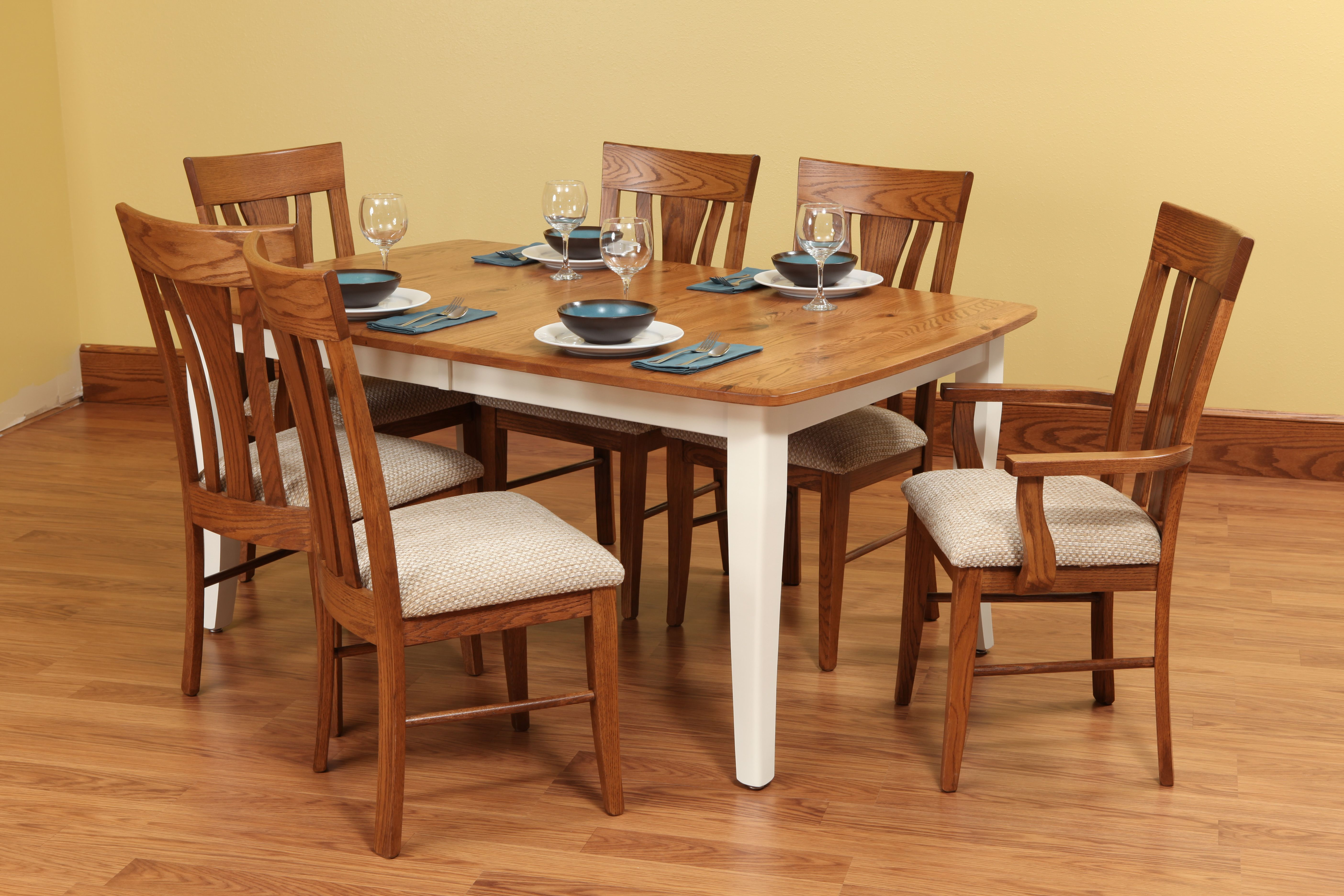Easton Pike Set With Images Amish Furniture Dining Room Table