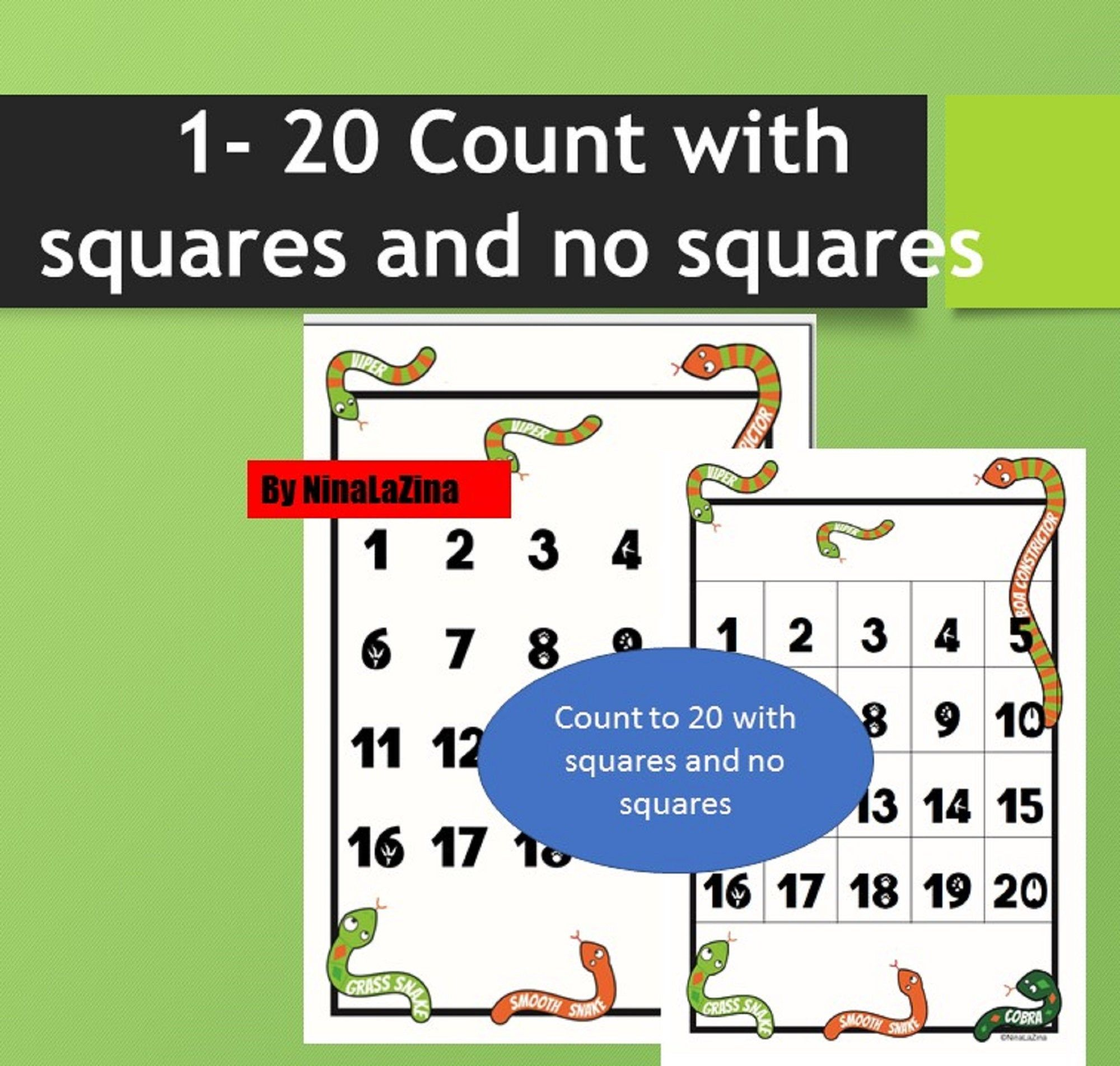 Count To 20 Worksheet 2 Included Maths Addition And