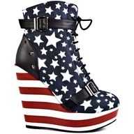 America the beautiful shoes love
