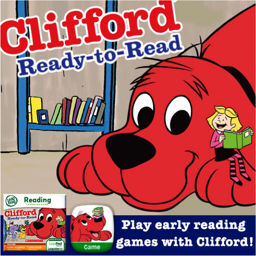 Interactive Games Apps For Clifford The Big Red Dog Early Reading Reading Reading Skills