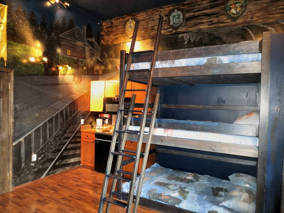 Attractive Harry Potter Inspired College Dorm. Yes. Part 7