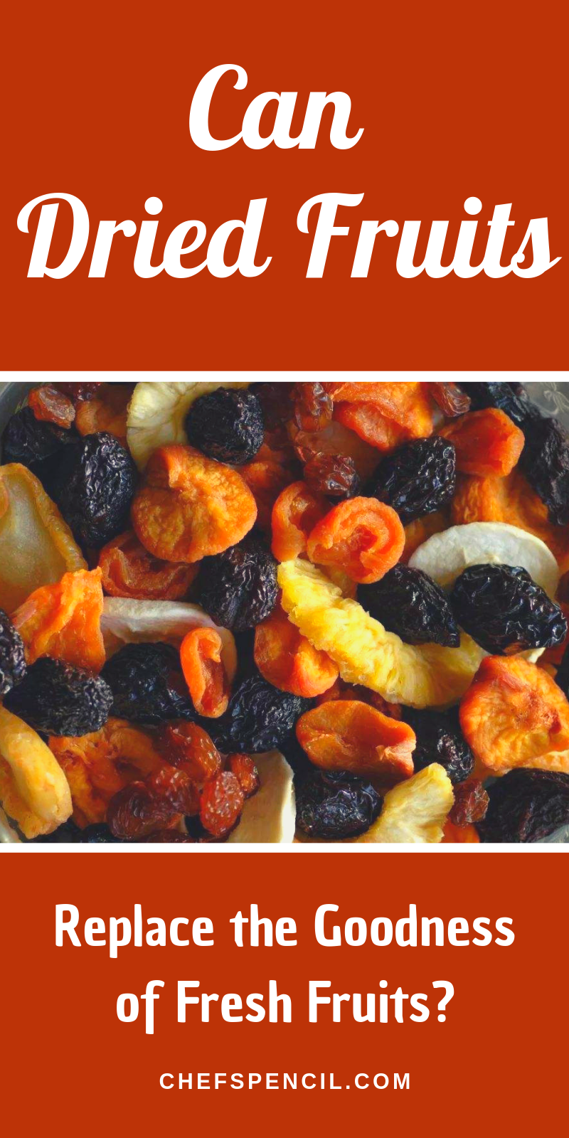 Can dried fruits replace the goodness of fresh fruits? | Chefs