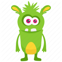 Cute Funny Monster Characters Icons By Vectors Market Monster Characters Funny Monsters Iconic Characters