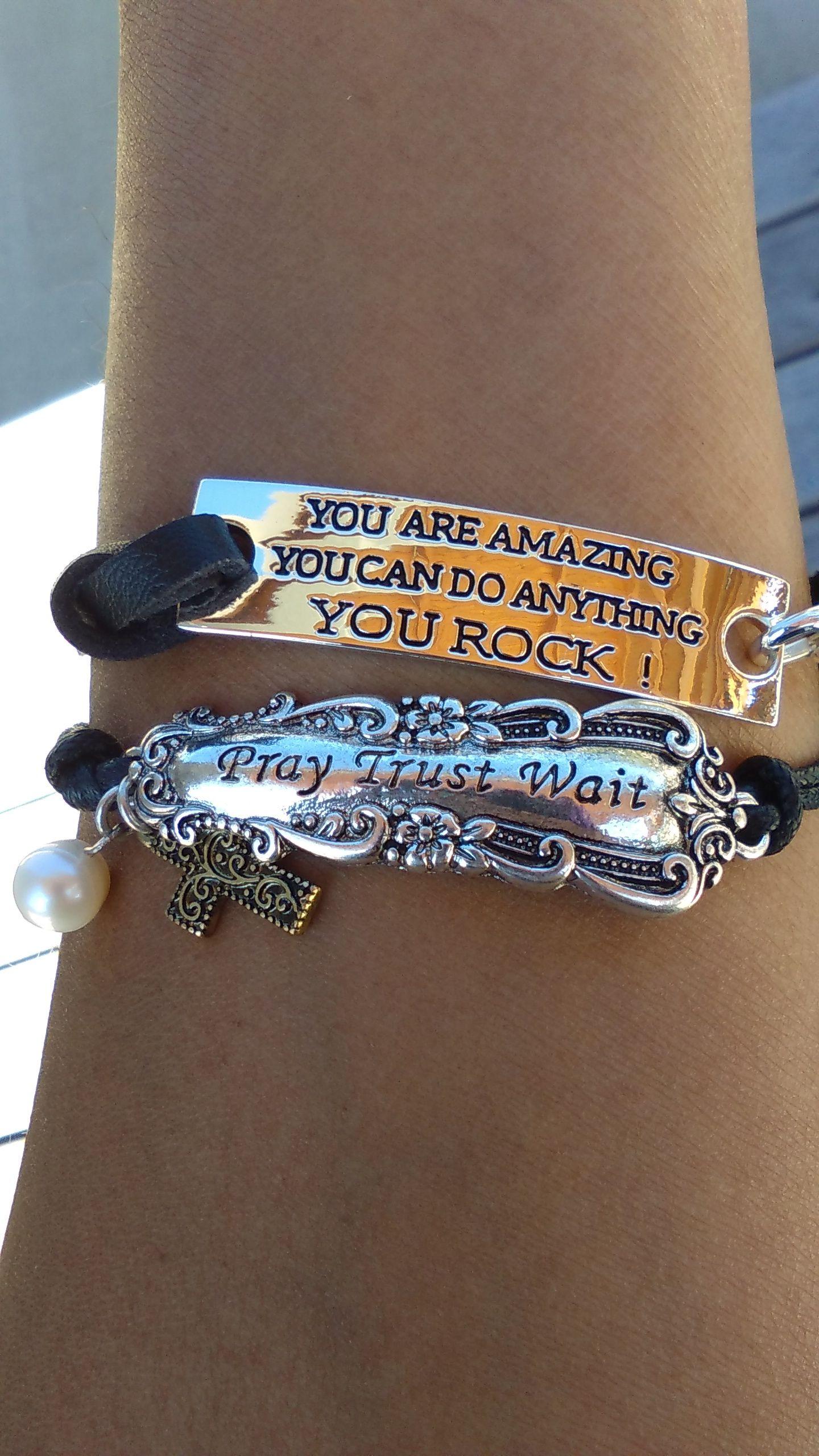 Inspirational Jewelry Affirmation Bracelet Jewelry