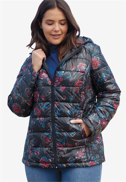 daa145ebc46 Packable puffer jacket