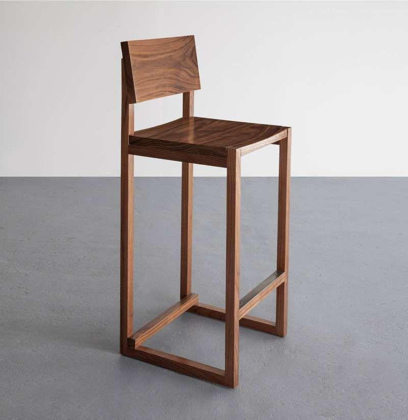 Sq Bar Stool Walnut Hardwood Available In Counter Height 이미지 포함 가구 아이디어 의자 디자인