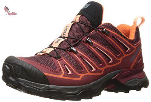 2 Chaussures Salomon chaussures X Ultra GTX W red salomon hiking b76ygvYf