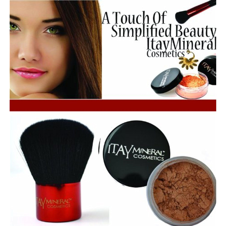 ITAY Mineral Cosmetics Kabuki Makeup Brush FB2 Mineral
