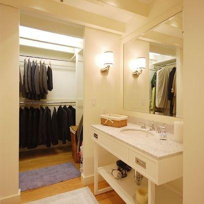 Vestidor Dentro Del Bano Muebles De Bano Interiores De