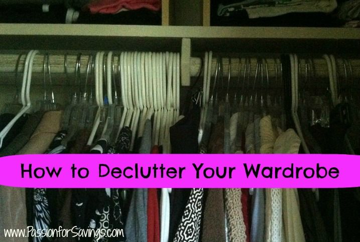 How to Declutter Your Wardrobe! Time to transition your clothes for Fall and Winter! Here are some great DIY Tips and Tricks!