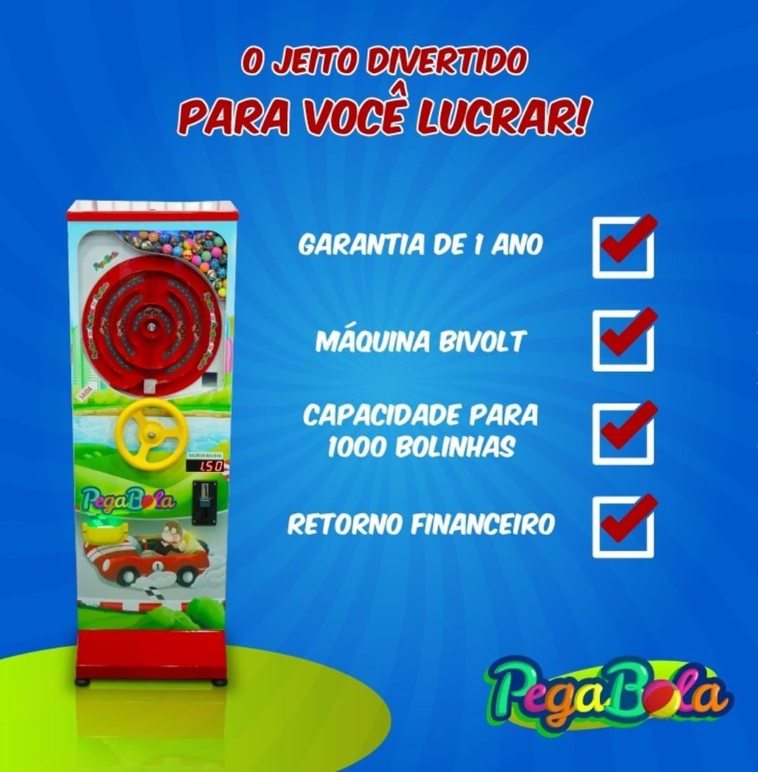 98183d90c (Uauuu) 📈 A máquina automática Pega Bola é uma brincadeira cheia de  benefícios para
