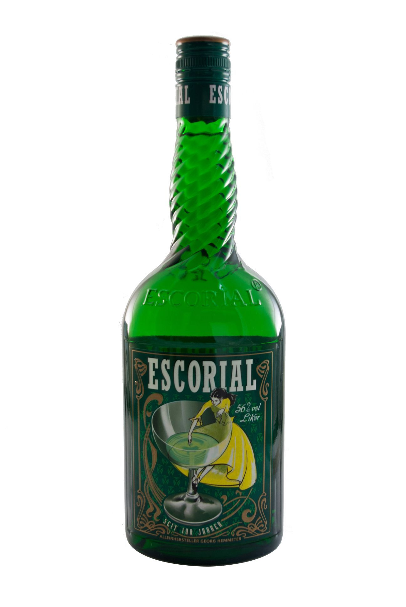 Escorial Grün / 56 vol (0,7L) Bottle, Drinks, Champagne