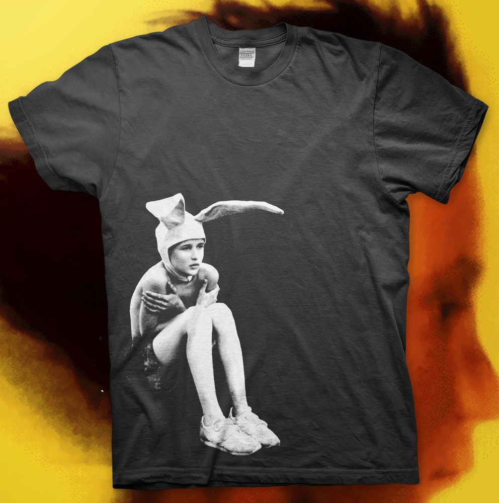 Best quality black t shirt - Details About Gummo High Quality T Shirt Harmony Korine Kids Movie Cult Classic Bunny Boy