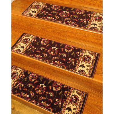 Best Wildon Home ® Summit Stair Tread Carpet Stair Treads 640 x 480