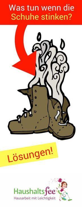 Was hilft wirklich gegen stinkende Schuhe beste Tipps- Haushlatsfee ...
