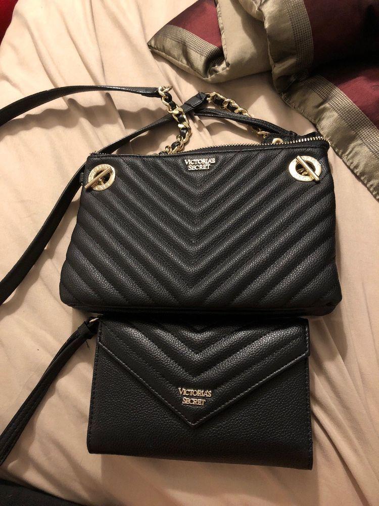 Victoria Secret Crossbody Purse And Matching Wallet