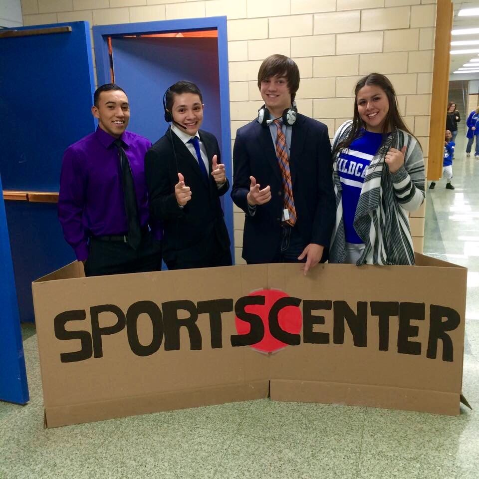 Fun idea for homecoming /basketball football games student ...