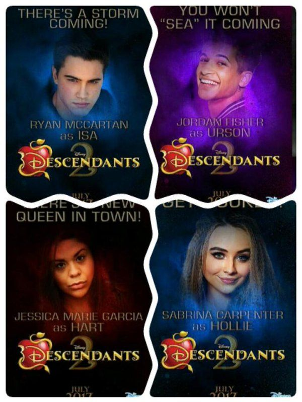 Wow they are awesome | Descendants 2 | Pinterest ...