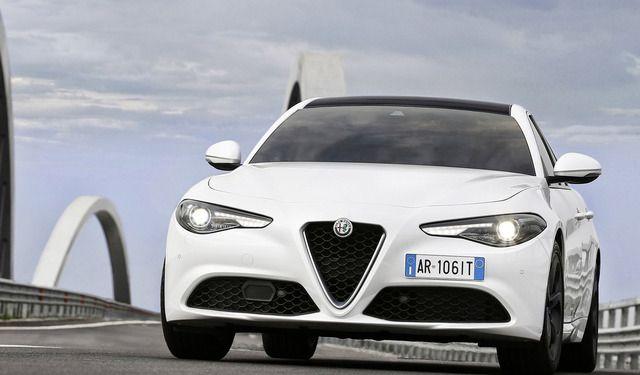 Alfa Romeo Giulia frontale