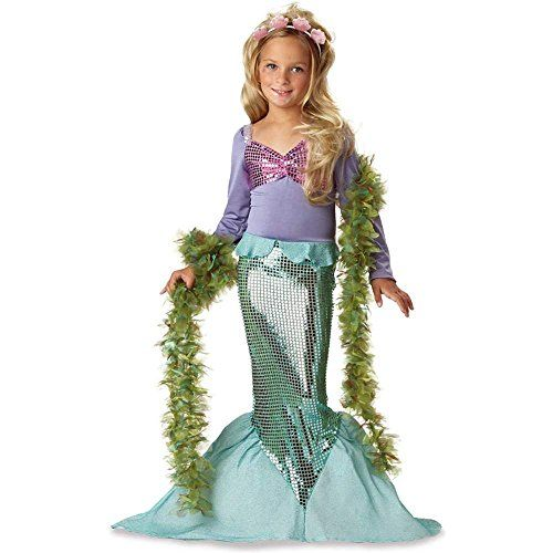 Child Little Mermaid Costume Small ** For more information, visit - cute childrens halloween costume ideas
