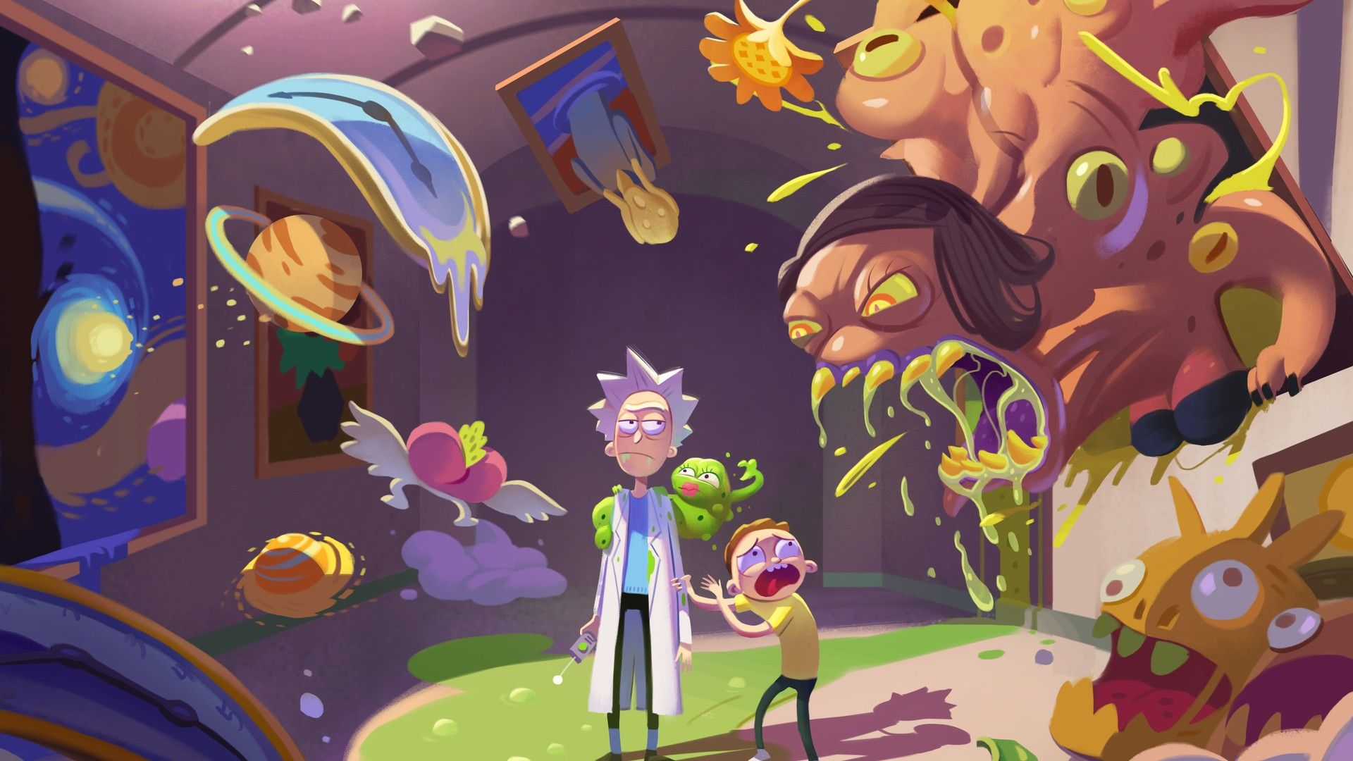 Rick And Morty Desktop Wallpapers Best Movie Poster