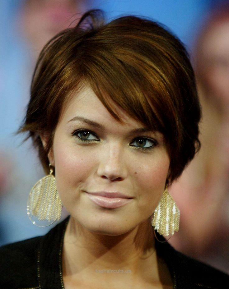 Short Hairstyles Round Face Hairstyles Ideas For Girls 2015 Short