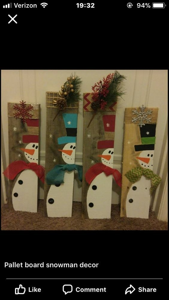 Fun and Easy DIY Christmas Decorations on a Budget - Wooden Pallets #porchpaintideas