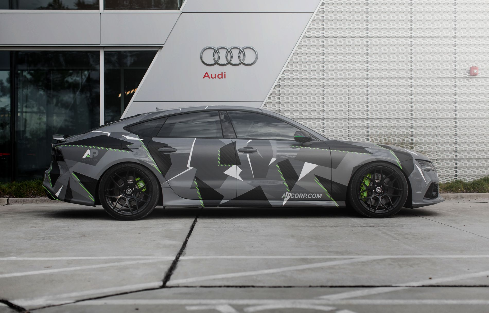 Killer Custom Wrapped Audi Rs7 From Ap Tinting Other Audi Audi