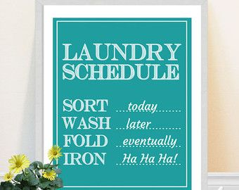 laundry schedule sort today - Google Search