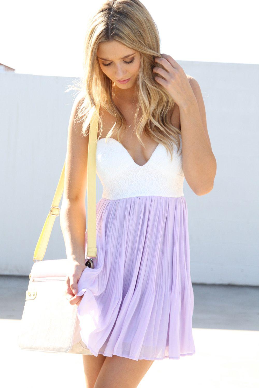 a2d6f3e72b32 Cute Lavender Summer Dresses