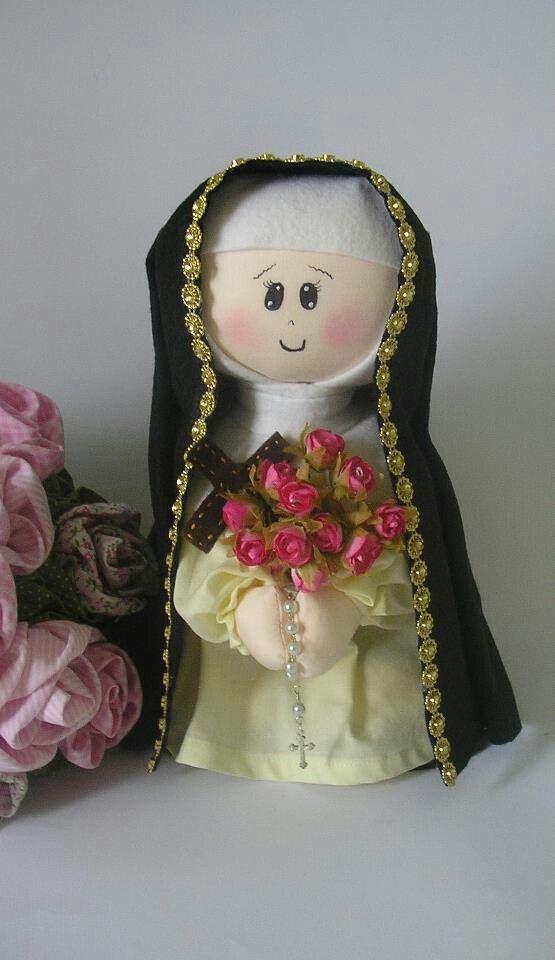 Santa teresina dolls dolls dolls i for Manualidades souvenirs navidenos