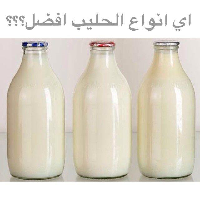 الحليب خالي الدسم سعرات أقل نسبة تركيز الكالسيوم اكثر خالي من فيتامين دال الحليب كامل الدسم سعرات اكثر يحتوي الكالسيوم و فيتامين دال اخت Cow S Milk Iodine Milk