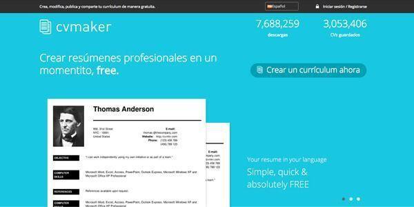 Como Hacer Un Curriculum Vitae Online Plantillas Cv Y Ejemplos