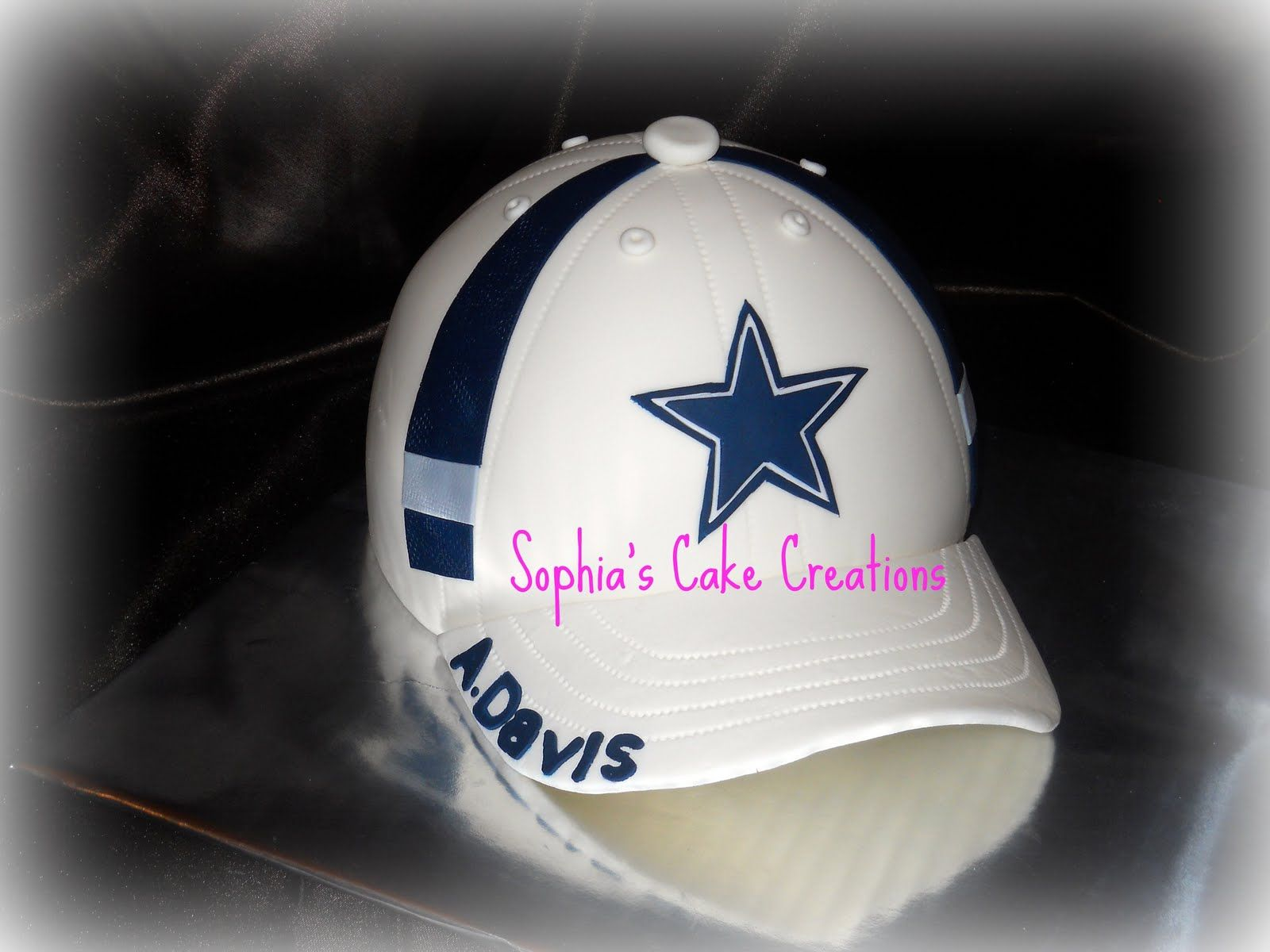 e5b7a891d2f Sophia s Cake Creations  Dallas Cowboy Ball Cap Cake