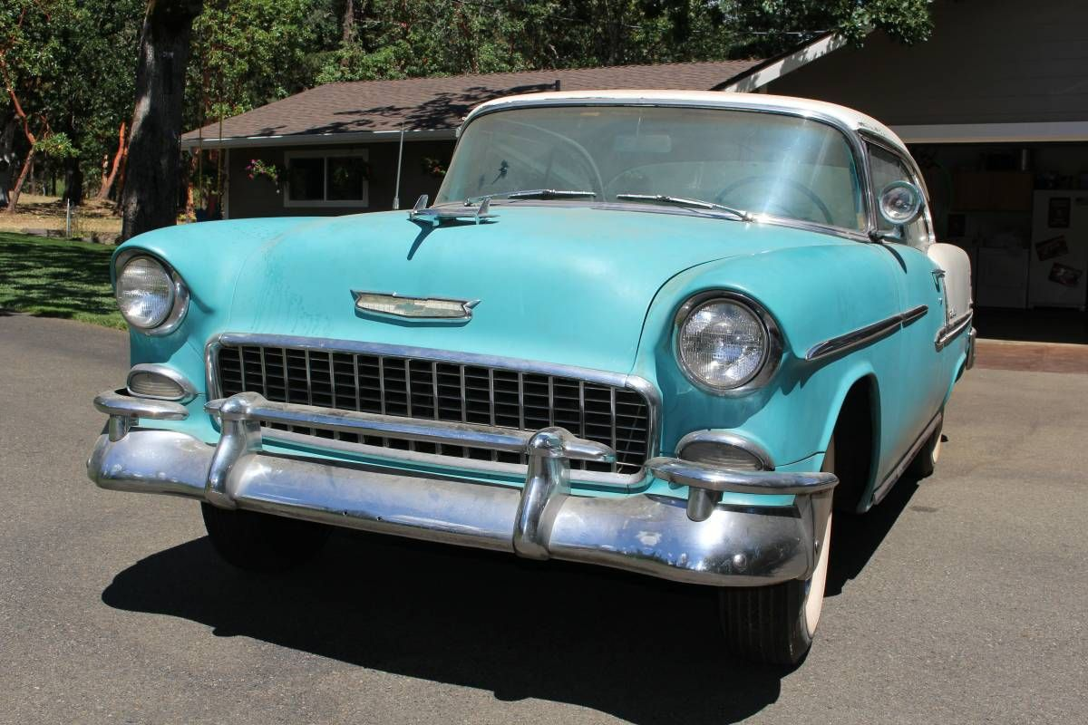 Dusty Dream Find: 1955 Chevrolet Bel Air - http://barnfinds.com/dusty-dream-find-1955-chevrolet-bel-air/