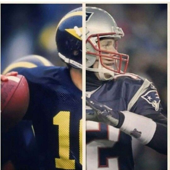 Tom Brady Michigan Newenglandpatriots New England Patriots Logo Nfl New England Patriots Michigan Football