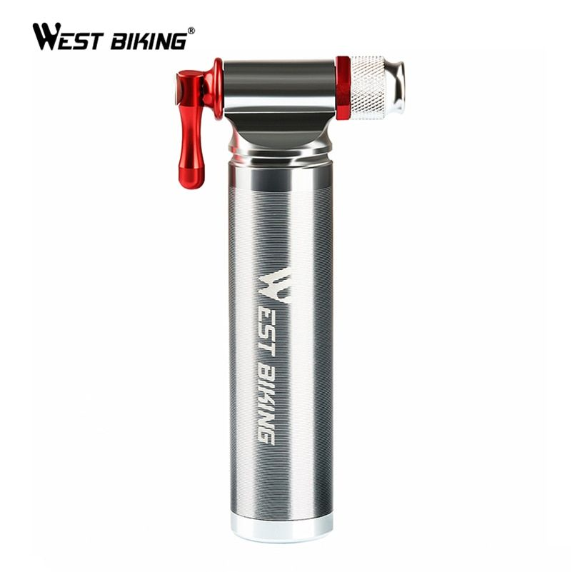 Best Price West Biking Portable Bicycle Pump Aluminum Alloy
