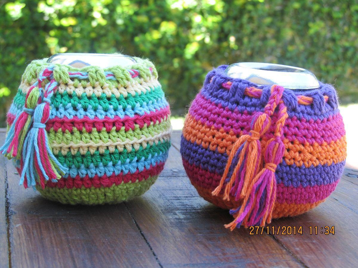 Mates De Calabaza Con Funda Tejida En Crochet Desde $30! - $ 50,00 ...