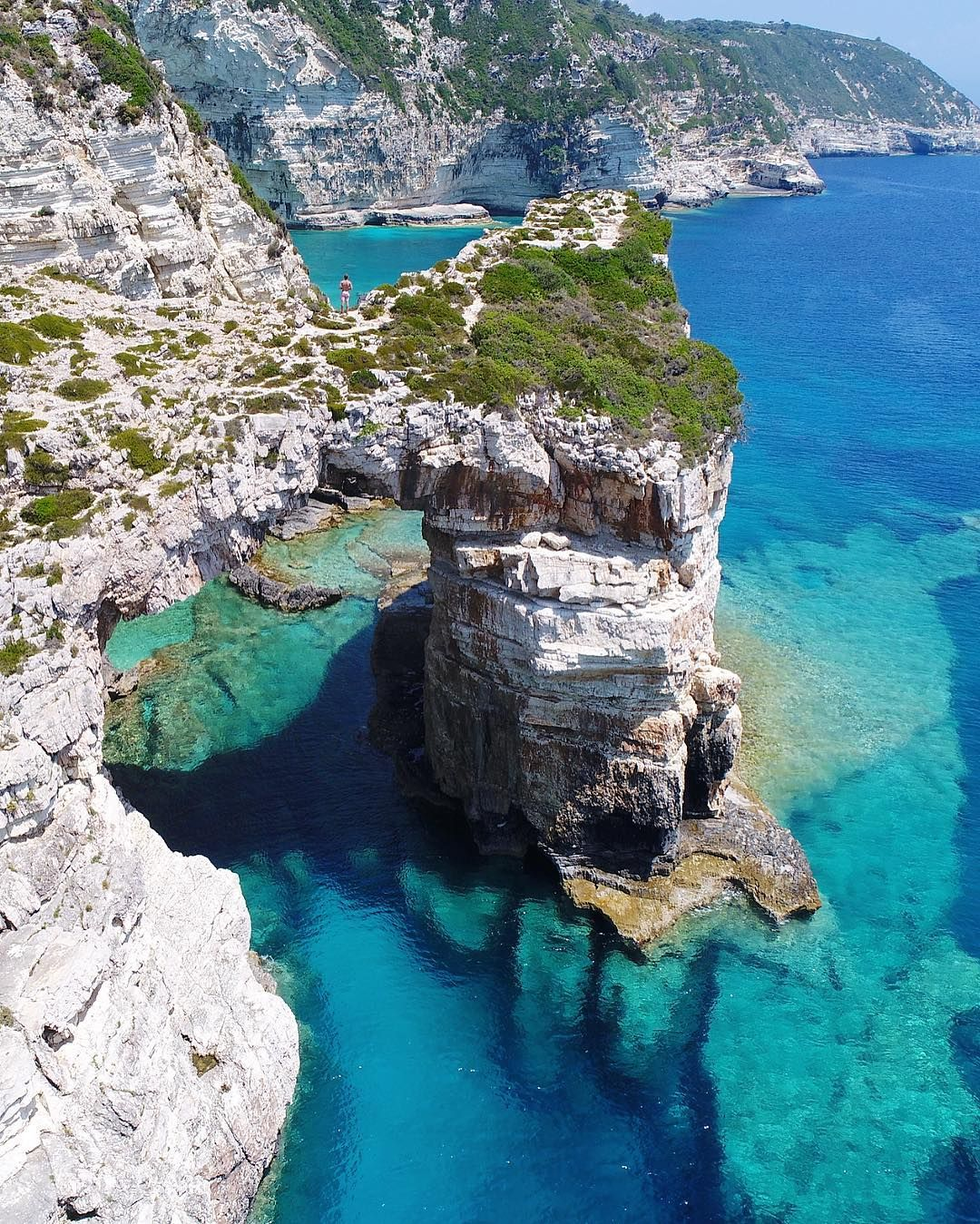 Gaios, Paxos | Greece from Above in 2019 | Greece travel