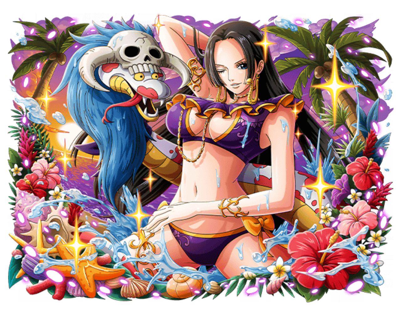 boa hancock summer pirate empress by mystig0 on deviantart manga anime one piece one piece manga one piece images