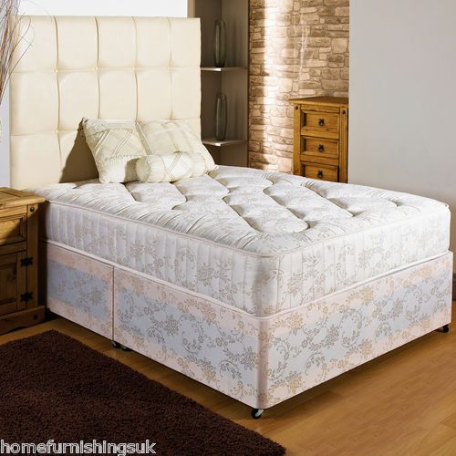super popular ab526 a1e22 Details about NEW FIRM ORTHO DIVAN BED + 10 INCH MATTRESS ...