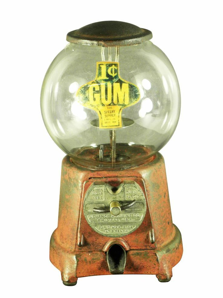 price of vintage gum ball machines