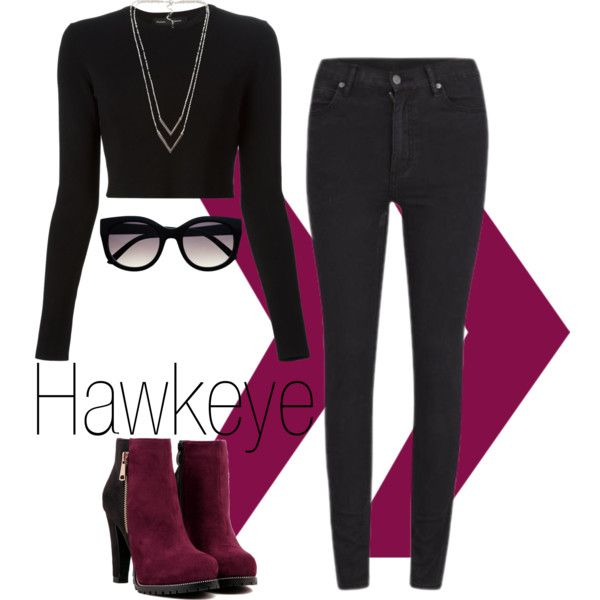 Hawkeye by el0723 on Polyvore featuring polyvore, fashion, style, Proenza Schouler, Cheap Monday and NLY Accessories